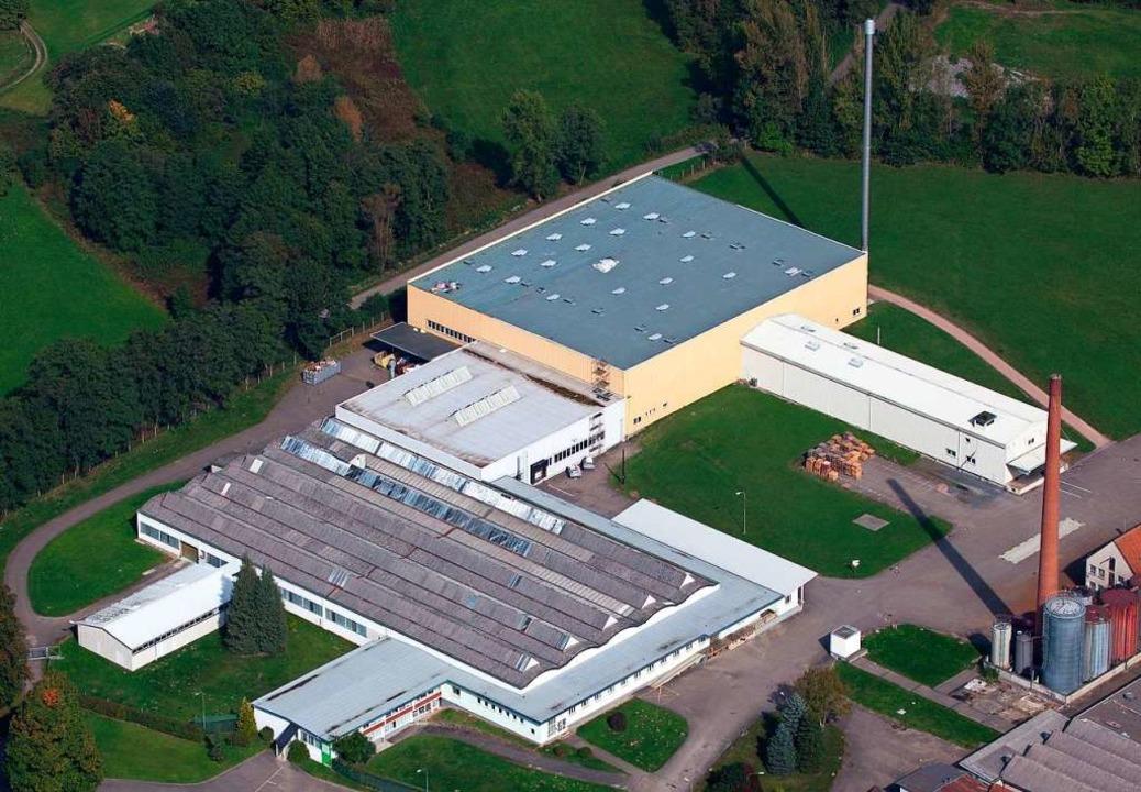 Das Celanese-Werk in Wehr, das Ende Juni 2021 geschlossen wird    Foto: Celanese