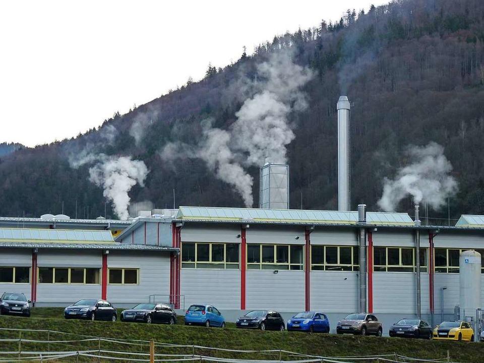 Das Werk in Utzenfeld ist nicht betroffen.    Foto: Sattelberger