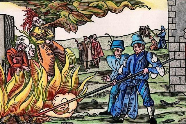 1603 wurde eine Wäscherin aus Waldkirch wegen Hexerei verbrannt