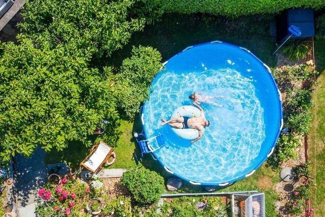 Nachfrage nach Swimmingpools für daheim ist enorm gestiegen