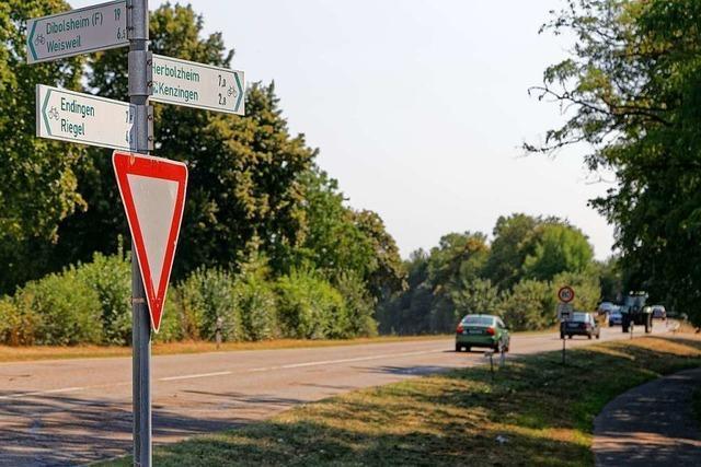 Für Radler gibt es zwischen Endingen und Kenzingen keine sichere Verbindung