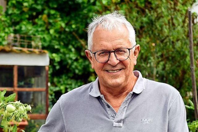 Herbert Mayer, Sportreferent der Stadt Freiburg, geht in Pension