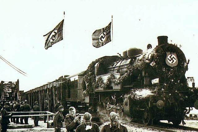 5600 Juden wurden vor 80 Jahren über die Breisacher Bahnbrücke deportiert