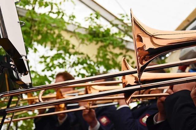 Blasmusiker bleiben auch in der Pandemie aktiv