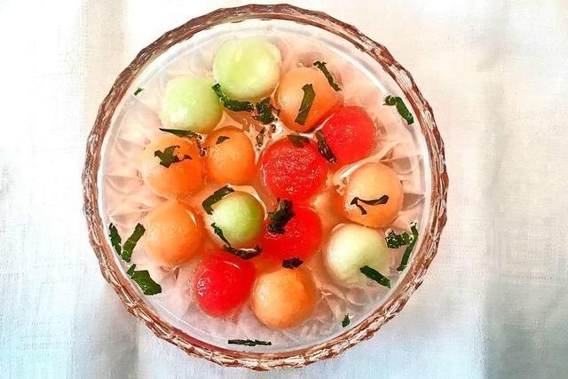 Gurken- und Melonensuppe als eiskalte Labsal für heiße Tage