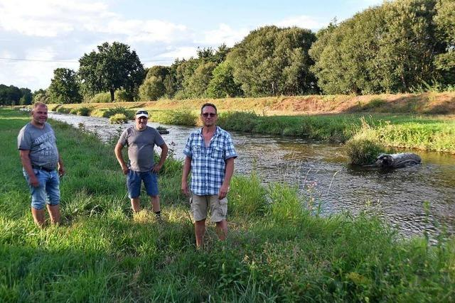 Angler besorgt, weil Gewässer in der Region häufiger trocken fallen