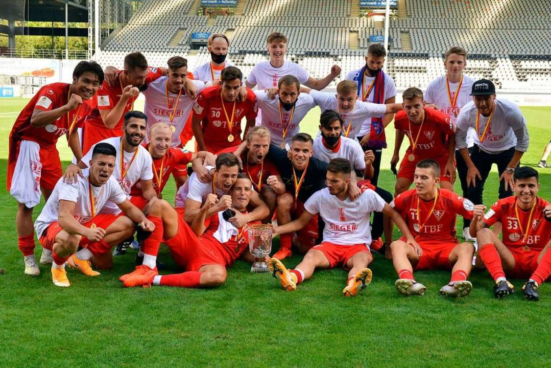 Das siegreiche Team des 1. FC Rielasingen-Arlen.  | Foto: Daniel Thoma