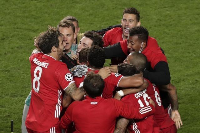 FC Bayern gewinnt Champions-League-Finale mit 1:0 gegen Paris Saint-Germain