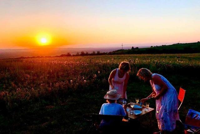 Picknick mit Ausblick aufs Rheintal gewinnt vierte Runde des BZ-Fotosommer