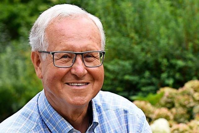 Einer, dem der Ruhestand fremd ist: Wolfgang Jäger wird 80