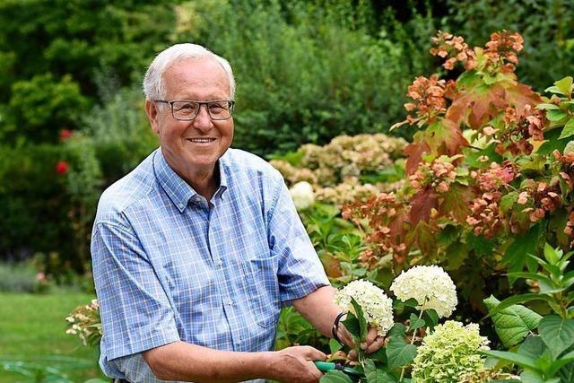 Wolfgang Jäger, Alt-Rektor der Freiburger Uni, wird 80 Jahre alt