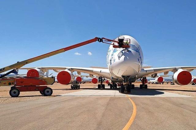 Airport im Nirgendwo: In Spanien liegt Europas größter Flugzeugparkplatz
