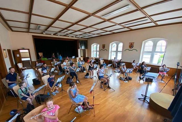 Musikverein Egringen wirbt mit selbstgedrehtem Video um Nachwuchs