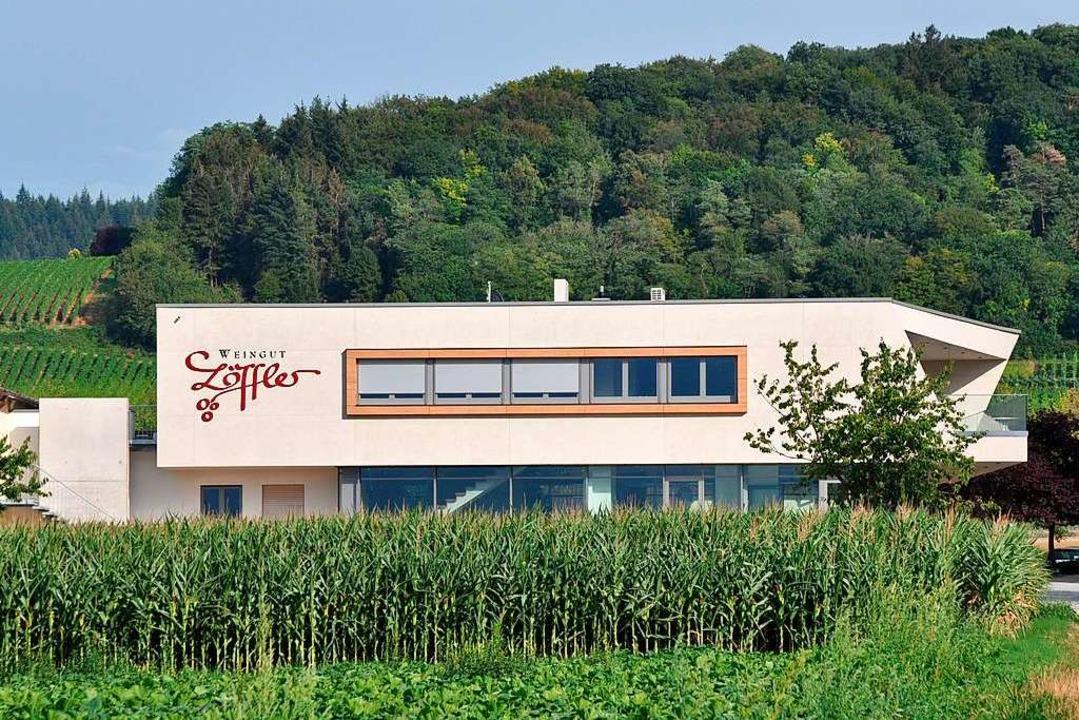 Die neue Vinothek des Weinguts Löffler in Staufen-Wettelbrunn  | Foto: Rainer Ruther