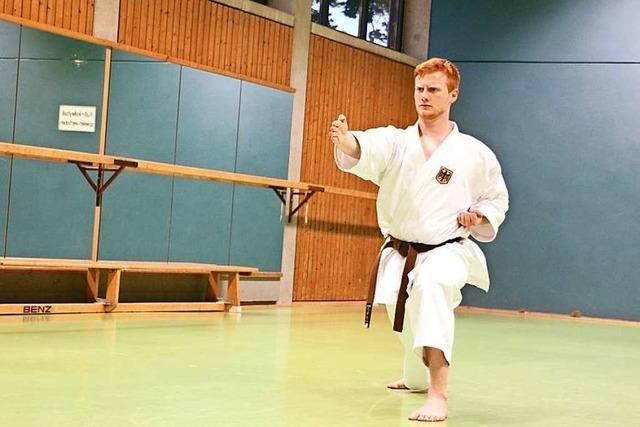 17-Jähriger aus Achkarren schafft Sprung in Karate-Bundeskader