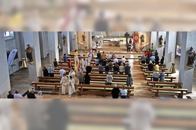Patrozinium in Corona-Zeiten ohne Prozession
