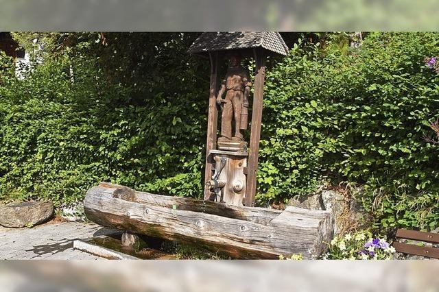 Bergmannsbrunnen wird aufgewertet