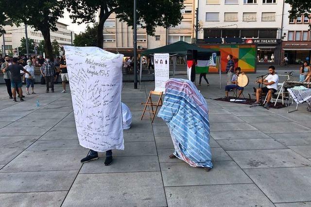 Freiburg prüft Umgang mit zukünftigen Demos auf Platz der Alten Synagoge