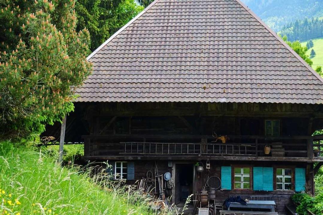 """Auf dem Kaltwasserhof wurde die Doku-S...#8222;Schwarzwald 1902"""" gedreht.    Foto: Gabriele Hennicke"""