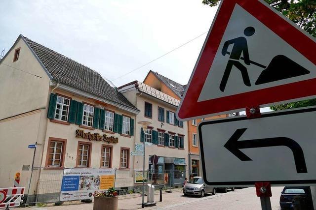 Bisher will kein Käufer die Uehlin-Häuser in Schopfheim sanieren