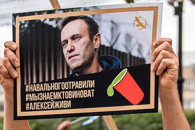 EU fordert von Moskau unabhängige Untersuchung von Fall Nawalny