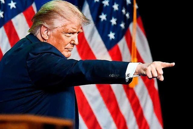 Trump schürt auf Parteitag Angst vor einem Wahlsieg Bidens