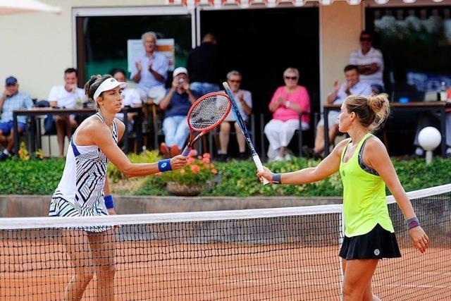 Eine Spanierin und eine Chilene aus Freiburg siegen bei Kahlenberg Open