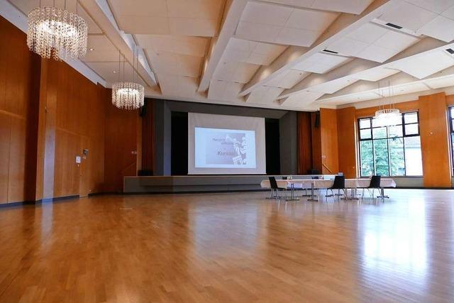 Kursaal in Bad Säckingen mit neuen Böden und modernen Toiletten