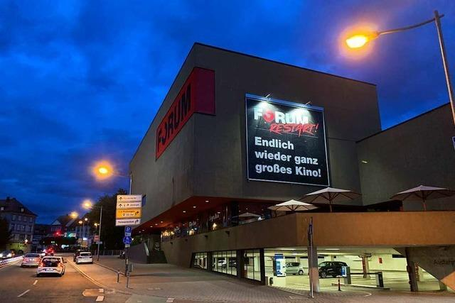 Ab 26. August gibt es wieder Kino in Offenburg, Lahr und Rastatt – unter Auflagen
