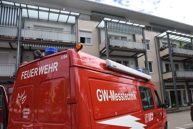 Feuerwehreinsatz am Engelplatz in Lörrach ist weitgehend beendet