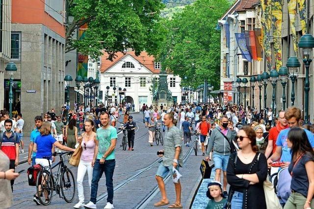 Freiburgs Einkaufsmeilen spielen im bundesweiten Vergleich vorne mit