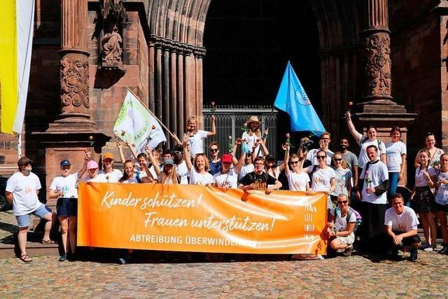 Freiburger Pro-Life-Hochschulgruppe will Dialog über Abtreibungen