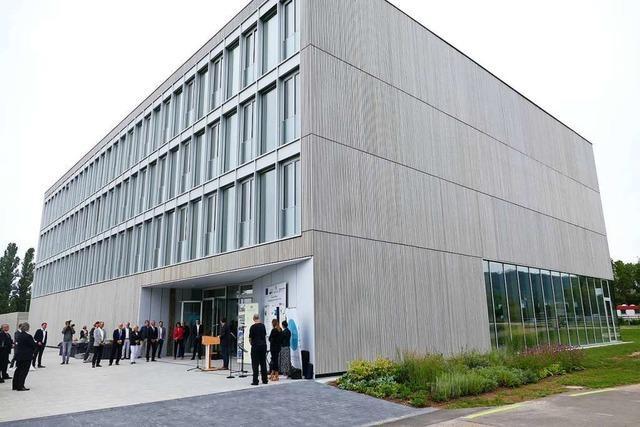 Hohe Erwartungen an das Regionale Innovationszentrum Energie in Offenburg