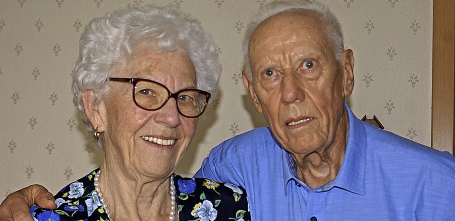 Doris und Norbert Döbele feiern diamantene Hochzeit.  | Foto: Werner Probst