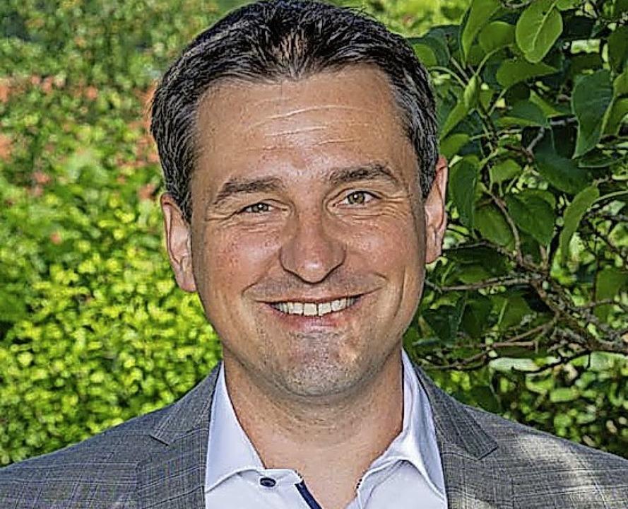 Amtsinhaber Tobias Gantert ist der einzige Bewerber für die Bürgermeisterwahl.    Foto: suedkurier