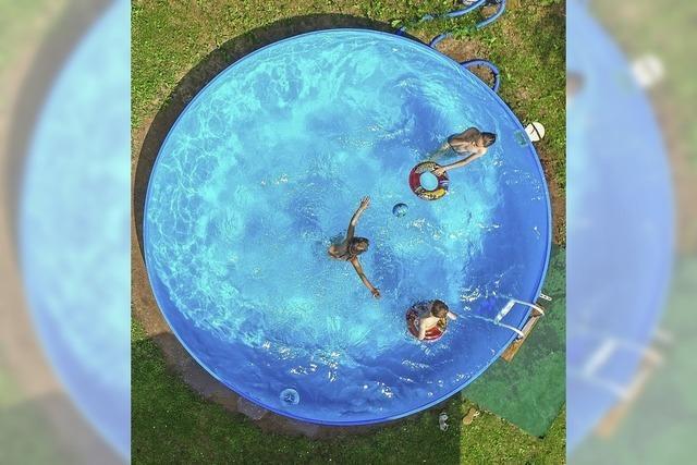 Sommer, Sonne, eigener Pool