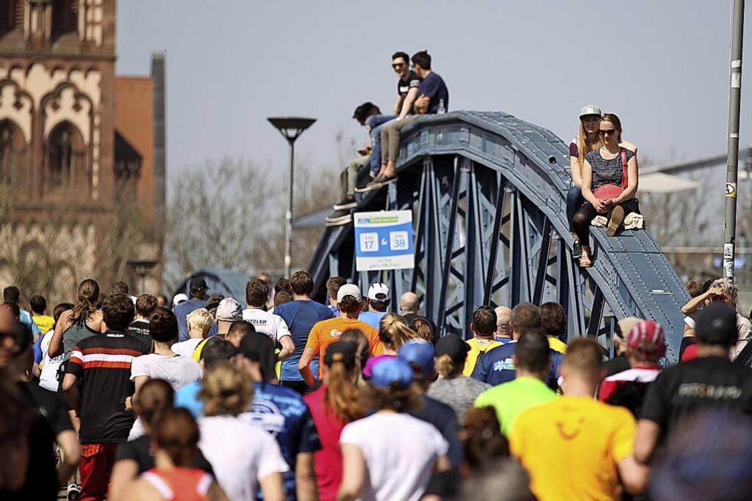 Der Freiburg-Marathon 2018 – ohne Corona.  | Foto: Janos Ruf