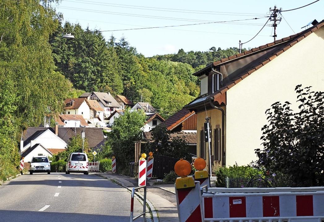 An der Lieler Straße in Riedlingen laufen die Arbeiten bereits.    Foto: Herbert Frey