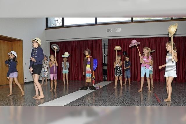 Was Kinder im Theaterworkshop lernen