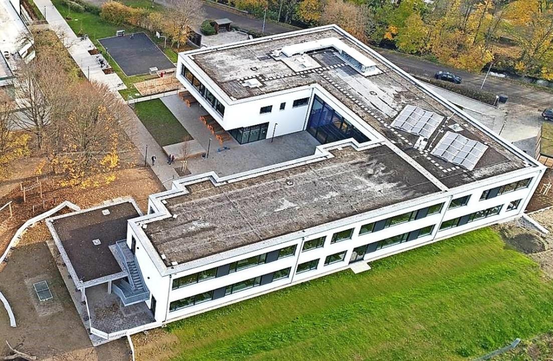 Mit rund 8,7 Millionen Euro eine der g...9/2020 ist das Gebäude bezogen worden.  | Foto: Gemeinde Ehrenkirchen