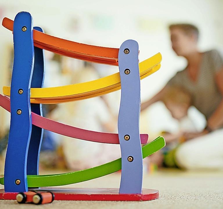 Frühkindliche Förderung braucht Experten.  | Foto: Uwe Anspach (dpa)