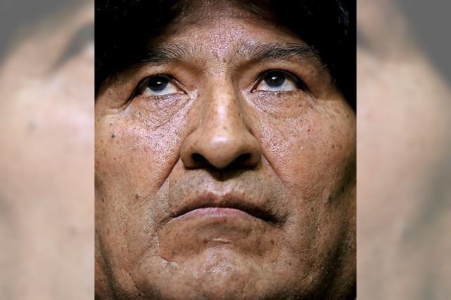 Regierung wirft Morales Sex mit 15-Jähriger vor