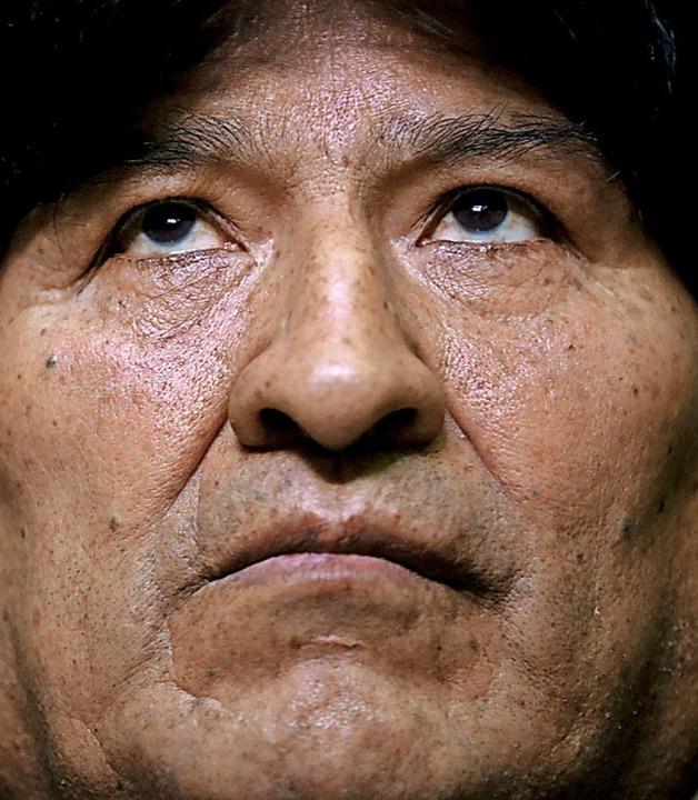Evo Morales  | Foto: Natacha Pisarenko (dpa)