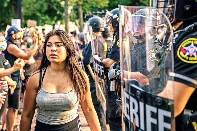 Proteste nach Schüssen