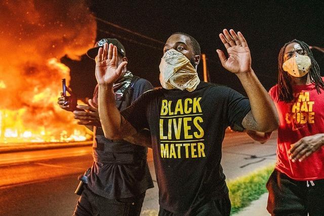 Erneut Proteste nach Schüssen auf Schwarzen