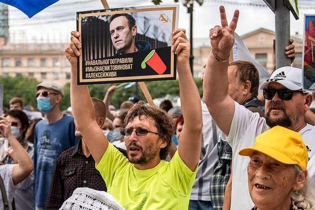 Die Bundesregierung sollte gegenüber Moskau klare Kante zeigen