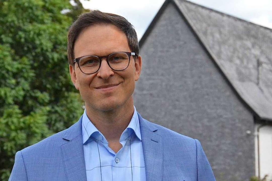 Alexander Schönemann, 36, ist Bürgermeister von Bernau.  | Foto: Sebastian Barthmes