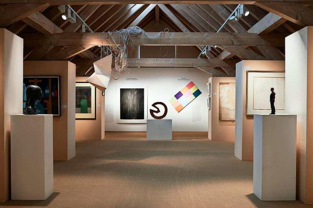 Das Hans-Thoma-Kunstmuseum in Bernau z...imatkünstlers aber auch moderne Kunst.  | Foto: Bernd Schumacher
