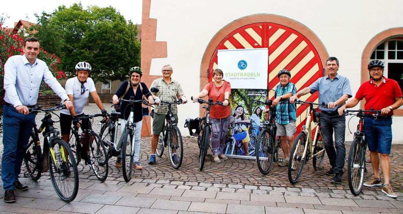 Sie bilden das Gemeinderatsteam: (von ..., Wolfgang Kienzler und Michael Jäckle  | Foto: Heidi Fößel