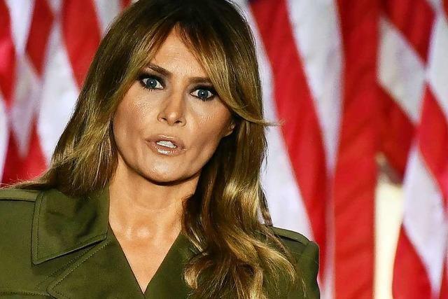 Wie Melania Trump versucht, das Bild ihres Gatten zu glätten